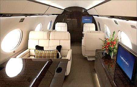 Gulfstream G650.