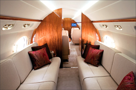 G550 interior.