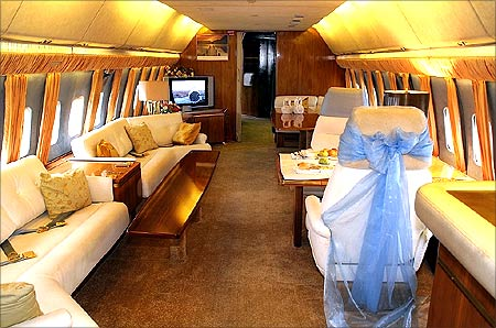 Boeing Business Jet.