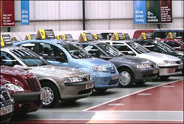 Car companies to sell 1-3% less vehicles