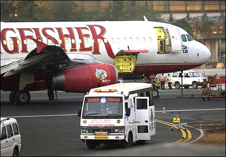 Kingfisher Airlines.