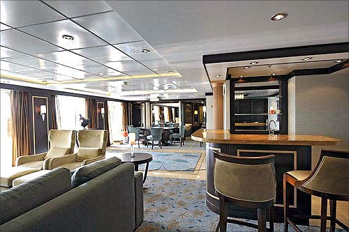 A suite in the ship.