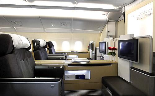 Lufthansa Airbus A380.