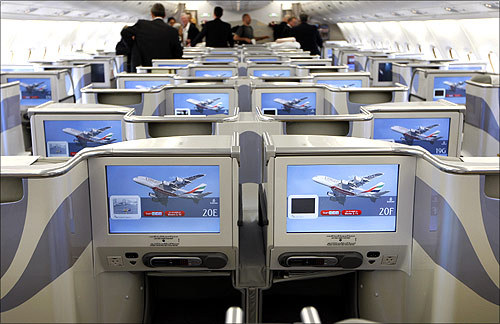Emirates Airbus A380.