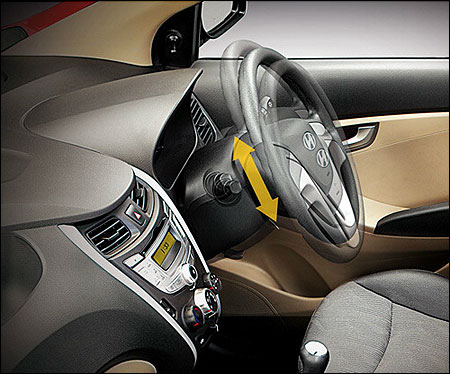MDPs with tilt steering.