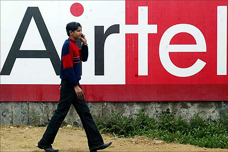 Bharti Airtel ad.