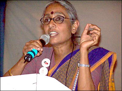 Aruna Roy is one of the founders of the School for Democracy.