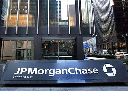 JP Morgan Chase office.