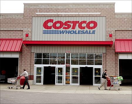 Costco Wholesale  shop.