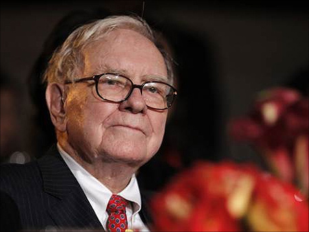 Berkshire Hathaway chief Warren Buffett.