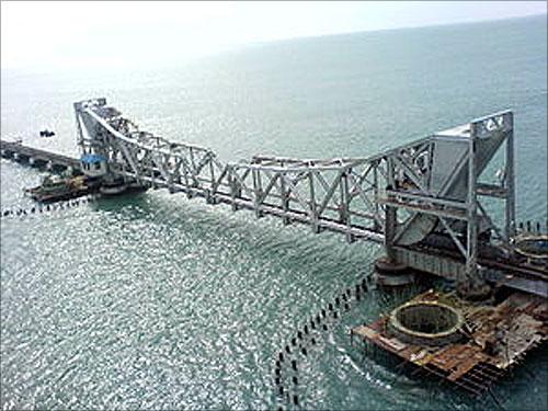 Annai Indira Gandhi Bridge.