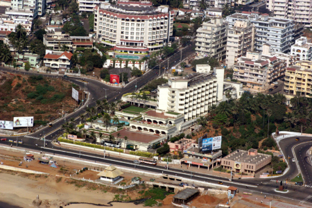 A view of Visakhapatnam.