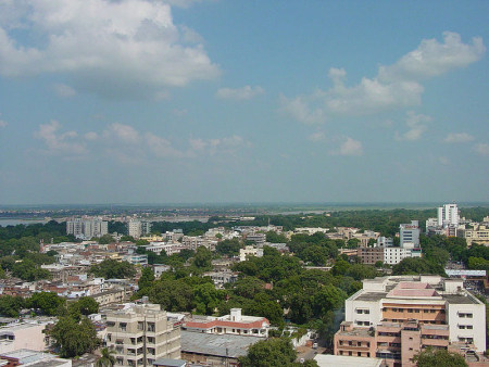 A view of Kanpur.