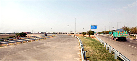 Jaypee Infratech's Expressway project.