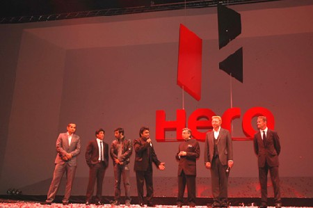 Hero MotoCorp announced its new identity at a glittering event in London.