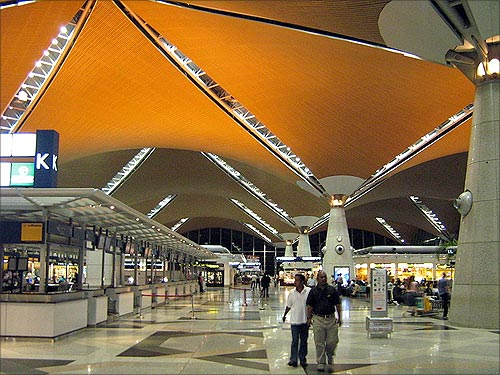 Kuala Lumpur International Airport.