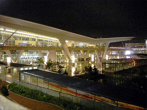 Cape Town International Airport.