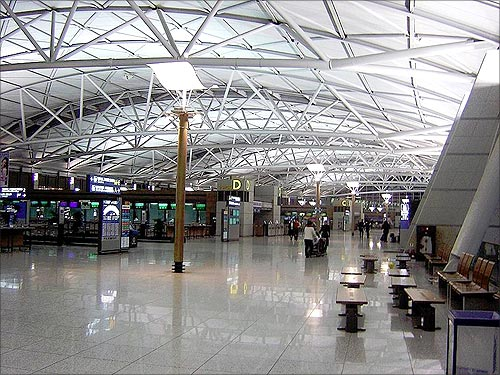Incheon International Airport.