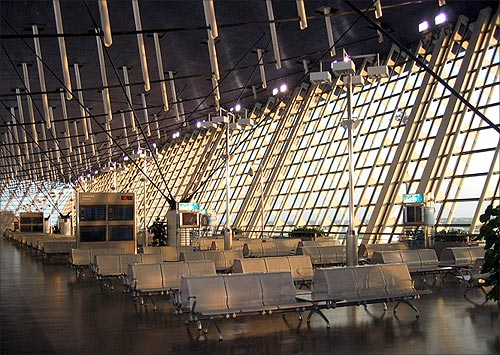 Shanghai Pudong International Airport.