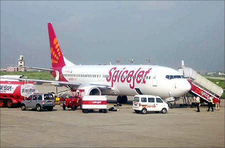 SpiceJet.