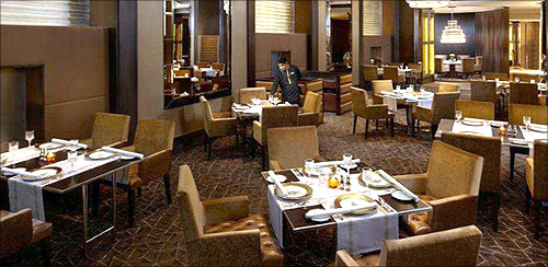 A restaurant.