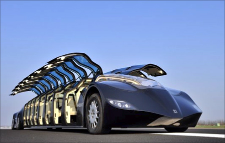 A Stunning Superbus That Beats A Private Limo Rediff Com Business