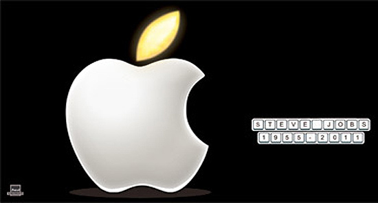 Tribute to Steve Jobs.
