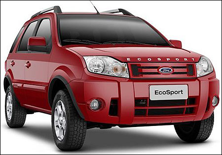 EcoSport, Ford's new SUV will soon be in India
