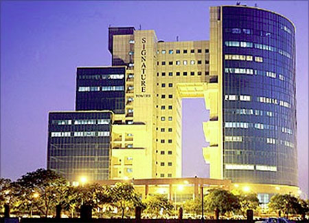 Signature Towers, Gurgaon.