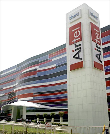Bharti Airtel office.