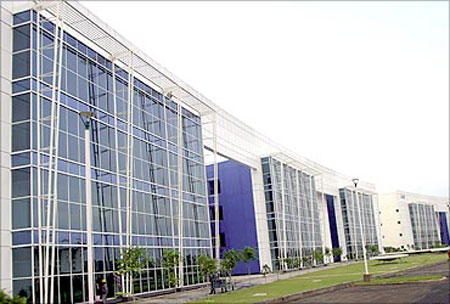 IT park in Chandigarh.