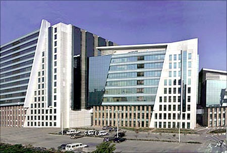 DLF Cyber City, Gurgaon.