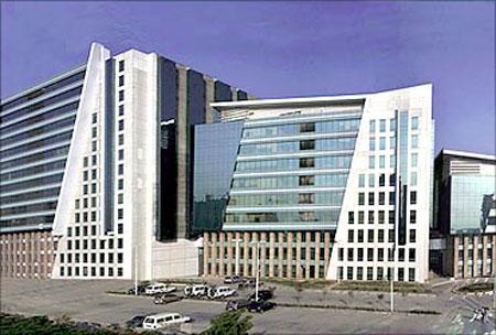 DLF Cyber City, Gurgaon.