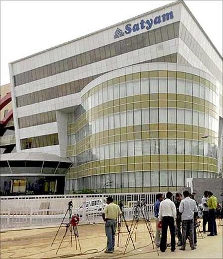 Mahindra Satyam, Hyderabad.