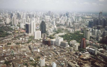Bangkok is ranked ninth.