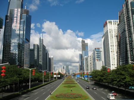 Shenzhen is ranked 15th.