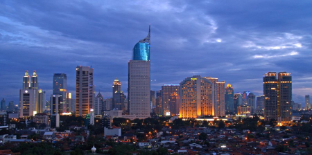 Jakarta is ranked 22nd.