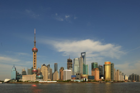Shanghai is ranked eighth.