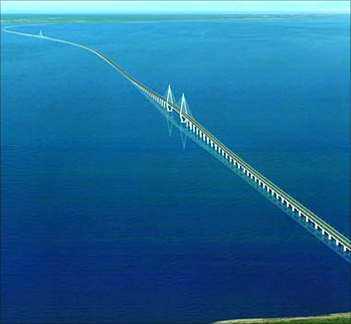 Hangzhou Bay Bridge, China