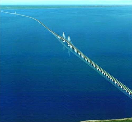 Hangzhou Bay Bridge.
