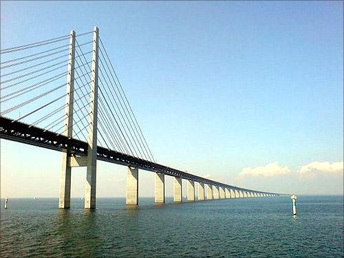 Oresund Bridge, Denmark and Sweden