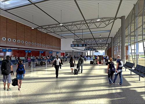 Perth Airport, Australia.