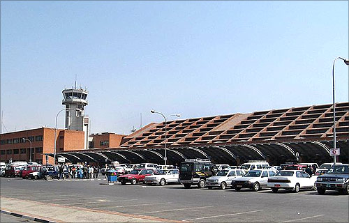 Tribhuvan International Airport.