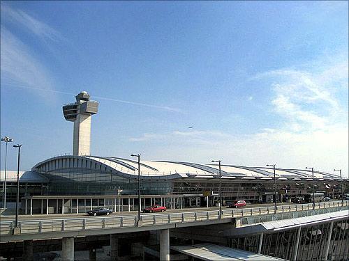 John F Kennedy Airport.