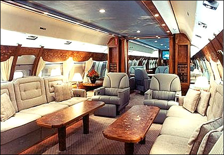 Boeing Business Jet 2 interior.