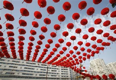 Spring Festival Temple Fair in Beijing.