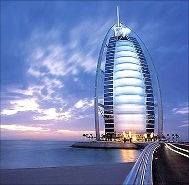 Burj Al Arab Tower, Dubai.