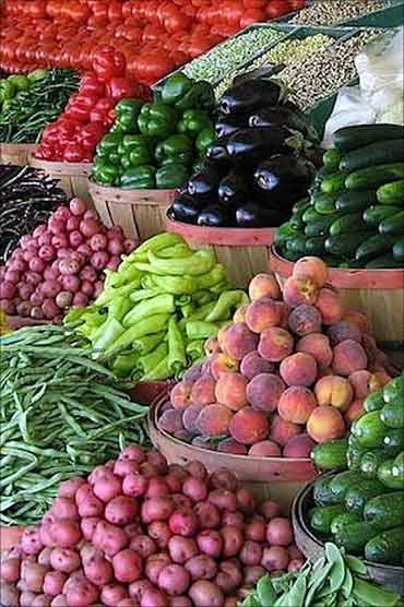 Vegetable prices soar.