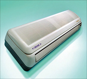 Air-conditioners to cost more.