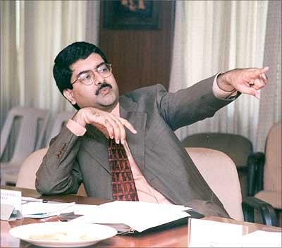 AV Biral chief Kumar Mangalam Birla.
